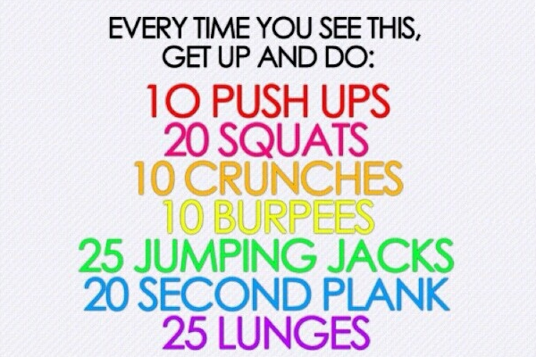 5 minute mini workouts